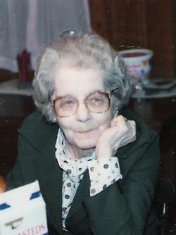 Margaret Edna <i>Toms</i> Simmons