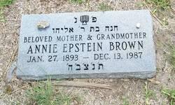 Annie <i>Epstein</i> Brown