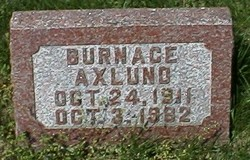 Burnace L Axlund