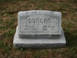 Ora Anna <i>Miller</i> Duncan