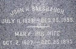 John H. Balsbaugh