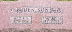 Maxie Edith <i>McKinley</i> Denison
