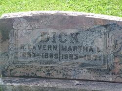 Martha Lucille <i>Smith</i> Dick