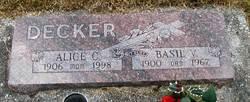 Basil V Decker