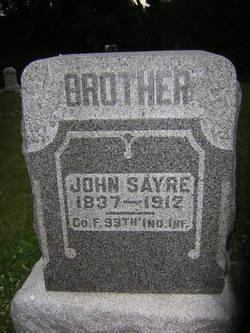 Pvt John Sayre