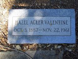Hazel O. <i>Agler</i> Valentine