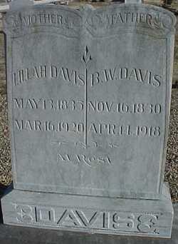 B. W. Davis