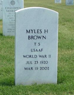 Myles H. Brown
