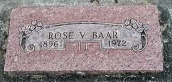 Rose V <i>Oberg</i> Baar