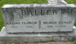 Mildred Burrow <i>Stewart</i> Ballew