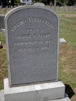 Virginia Louisa <i>Yerby</i> Alsop