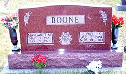 Lowell K Boone