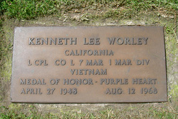 LCpl Kenneth Lee Worley
