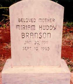 Miriam <i>Huddy</i> Branson