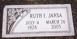 Ruth Irene Jansa