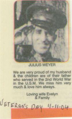 Julius Orville Weyer