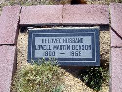 Lowell Martin Benson