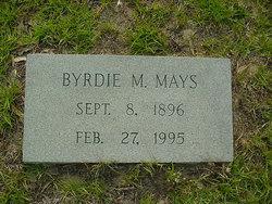 Byrdie Lou <i>McClendon</i> Mays