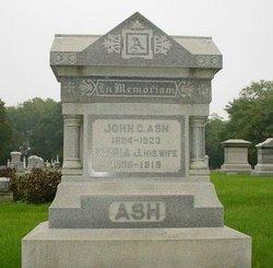 Maria J <i>Cloyd</i> Ash