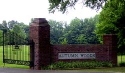 Autumn Woods Memorial Park