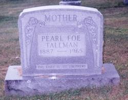 Pearl Hamilton <i>McClung</i> Foe Tallman