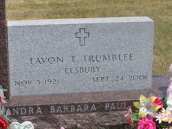 LaVon Thelma <i>Elsbury</i> Trumblee