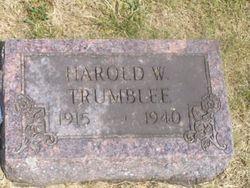 Harold William Trumblee