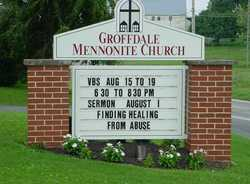 Groffdale Mennonite Brick Church Cemetery