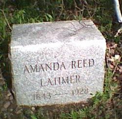 Amanda <i>Reed</i> Latimer