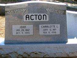 Charlotte Louise <i>Kimble</i> Acton