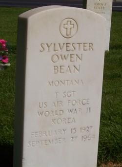 Sgt Sylvester Owen Owen Bean