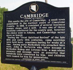 Cambridge Church Cemetery