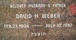 David H Weber
