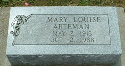 Mary Louise <i>Riggs</i> Arteman