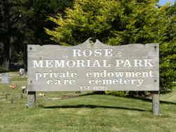 Rose Memorial Park Cemetery