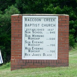 Raccoon Creek Baptist Church Cemetery