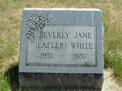 Beverly Jane <i>Lafler</i> White