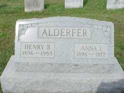 Anna I <i>Harr</i> Alderfer