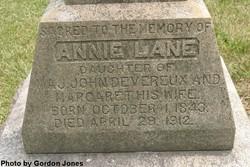 Annie Lane Devereux