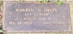 Warren G. Dock Shupe