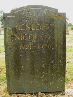 Benedict Nicolson