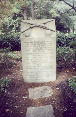 Battle of Peachtree Creek Monument