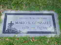 Mario Lee Gonzales