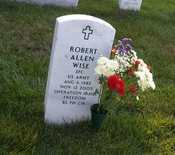 Sgt Robert Allen Wiseguy Wise