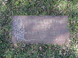 Georgia Gertrude Appel