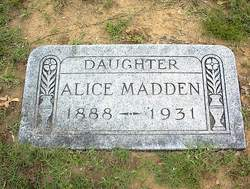 Alice Madden