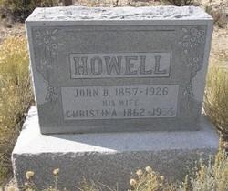 Christina <i>Anderson</i> Howell