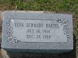 Elva <i>Schmidt</i> Bartel