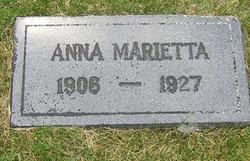 Anna Marietta Unknown