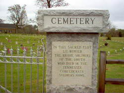 Tennessee Confederate Soldiers Home Cemetery